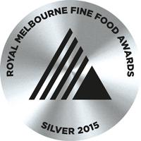 Royal Melbourne Fine Food Awards - Silver 2015