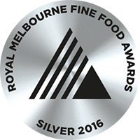 Royal Melbourne Fine Food Award - Silver - 2016