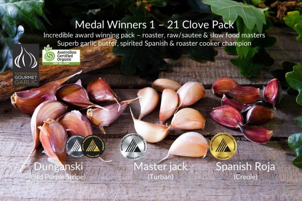 CLOVE PACK - MEDAL WINNER 1 - 21 CLOVE PACK