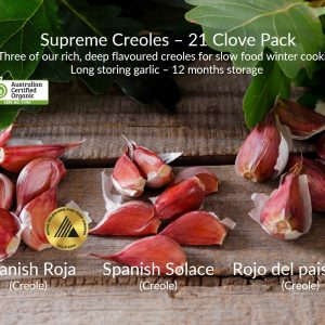 CLOVE PACK - SUPREME CREOLES - 21 CLOVES