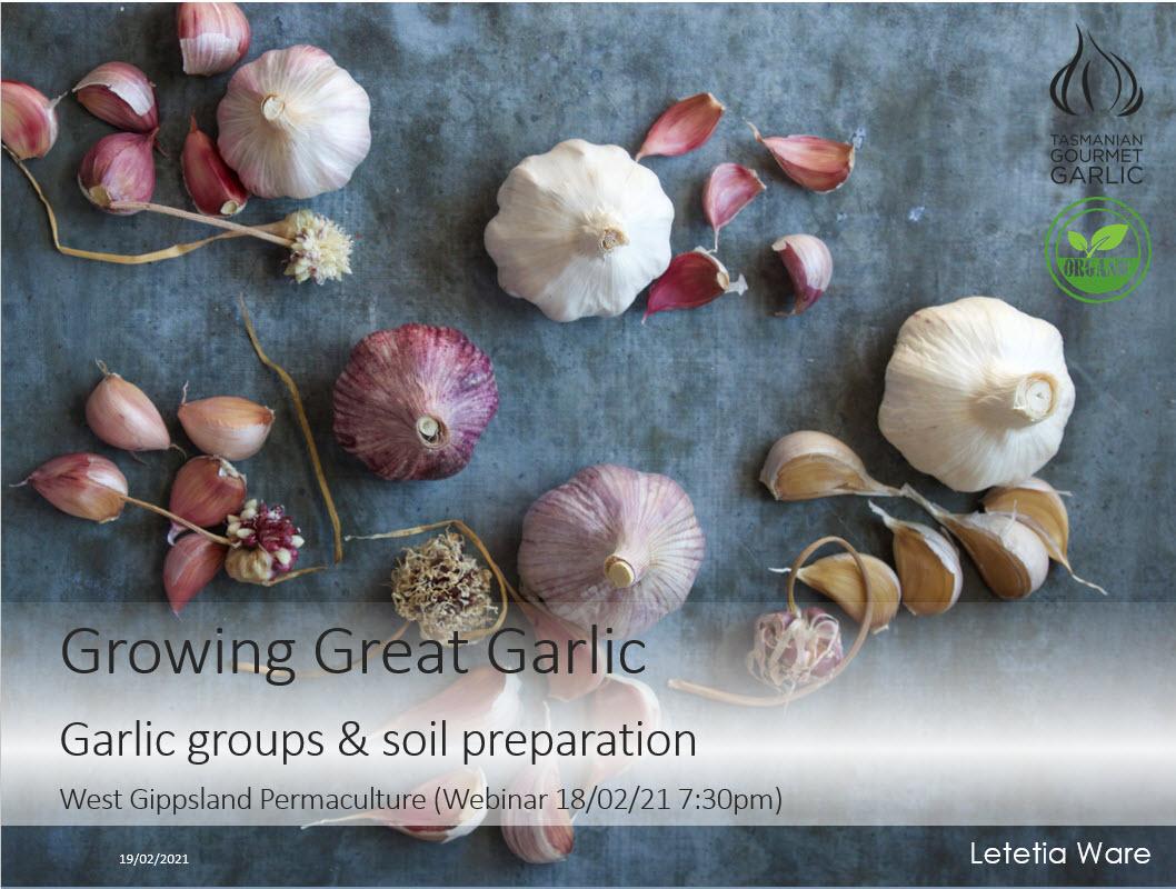 West Gippsland Permaculture Webinar Presentation
